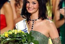 Photo of Miss Europe 2005 — Iranian Beauty Shermin Shahrivar