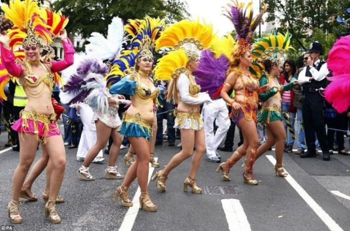 Carnival in West London