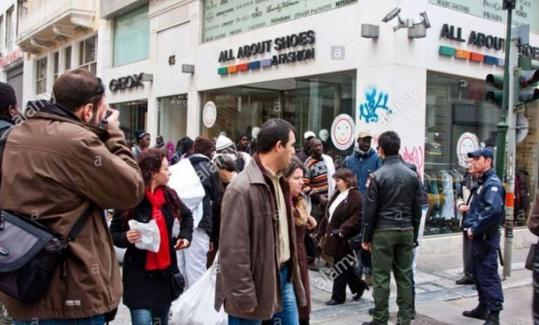 Photo of Greece swept a wave of illegal immigration