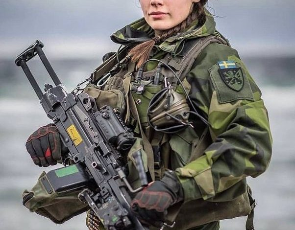Swedish Army Soldier
