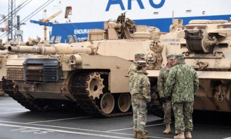 US tanks Germany