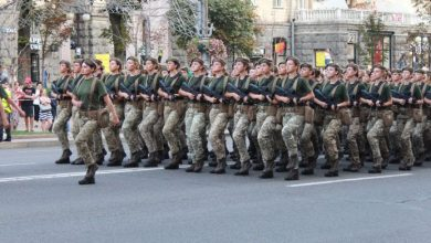 Photo of Parade in Kiev on Independence Day