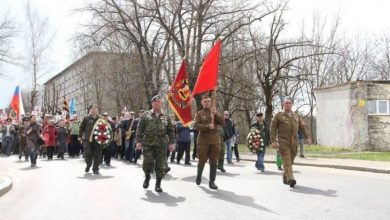 Regiment of the dead in Narva