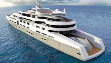 Photo of Russian oligarchs laid the most expensive yacht in the world