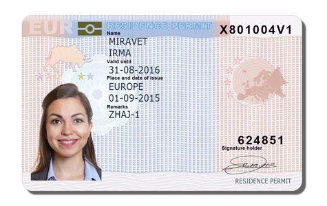 Residence Card EU