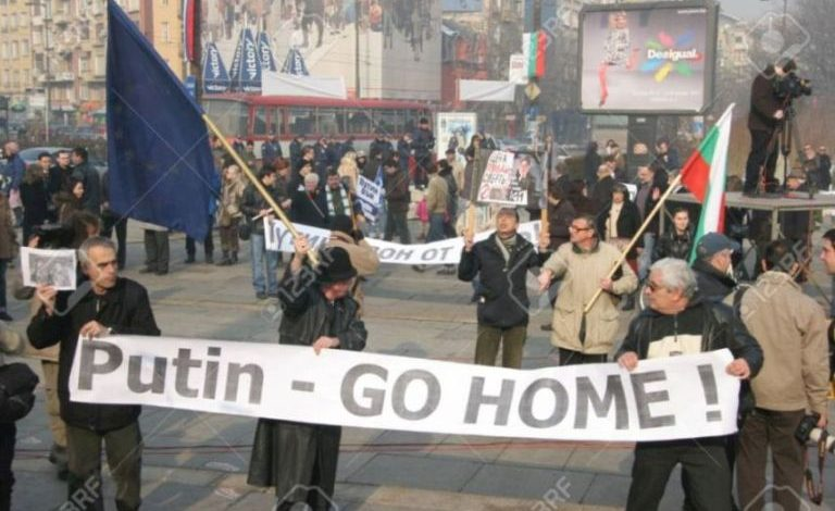 Putin go home!