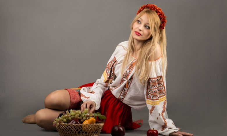 National Moldavian costume