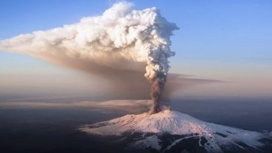 Photo of The eruption of Etna, the largest volcano in Europe, began