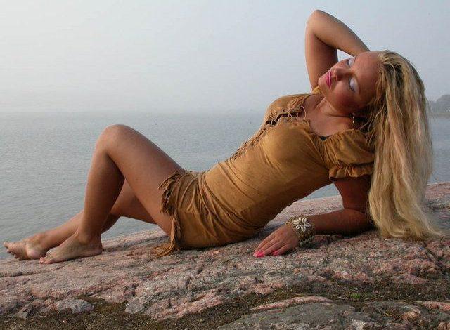 Stripper Johanna Tukiainen