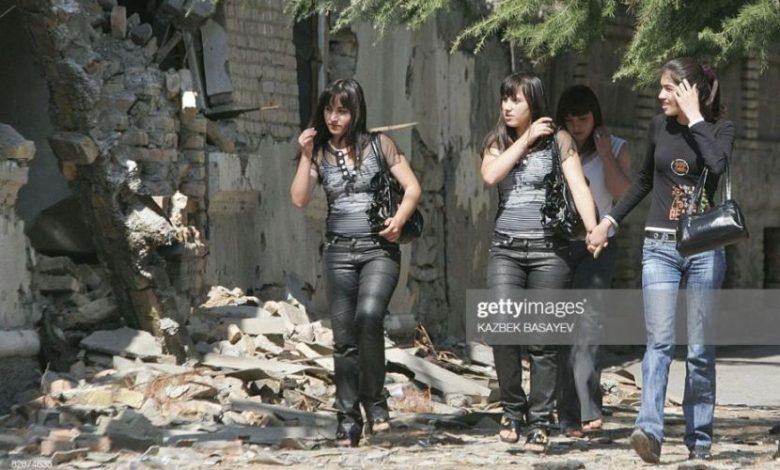 South Ossetian girls