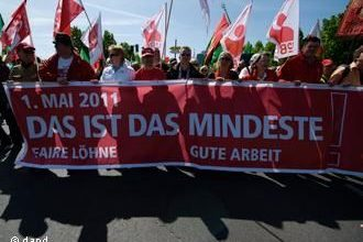 Photo of May Day in Europe was marked by socio-economic topics