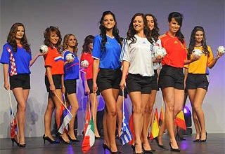 Photo of Miss Euro 2008 beauty pageant held in Germany