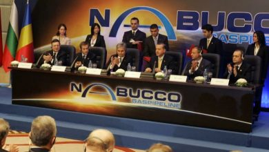 Photo of Nabucco gas pipeline agreement signed