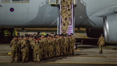Photo of NATO Rapid Response Team Arrives in Estonia