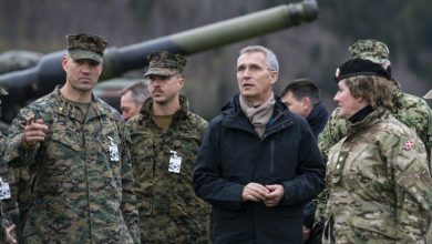 Photo of NATO Secretary General Jens Stoltenberg disagrees with Russian position