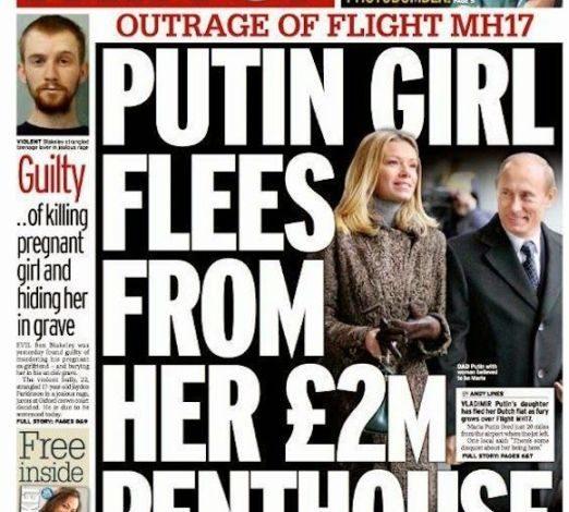 Putin's daughter