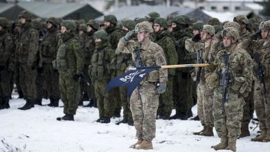 Photo of NATO Battalion battle group begins its journey to Estonia