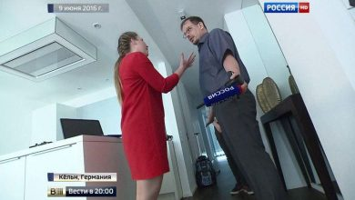 Photo of Incident of journalists from the RF and Germany: in a network laugh at the russian woman