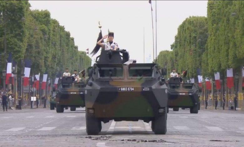 Paris parade