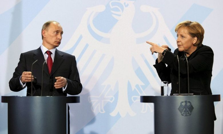 Putin Merkel Germany