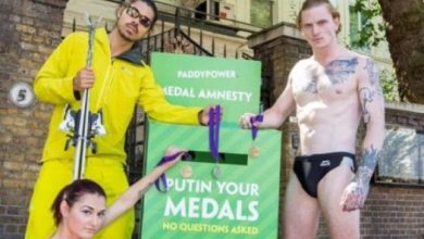Photo of Putin your medals