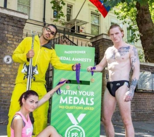 Putin your medals