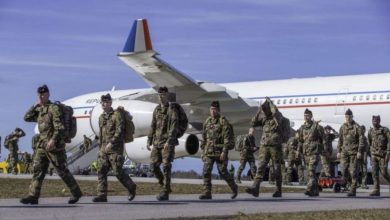 Photo of The transfer of the NATO battalion to Estonia has ended