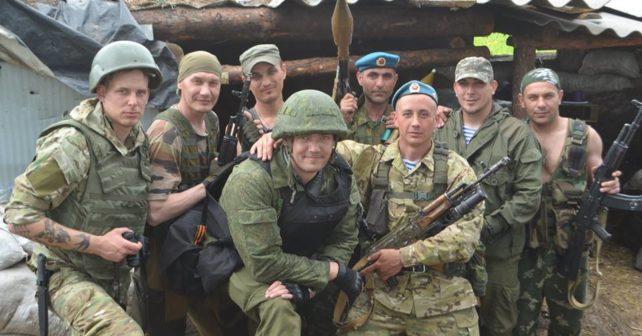 Italian mercenaries in the Donbass