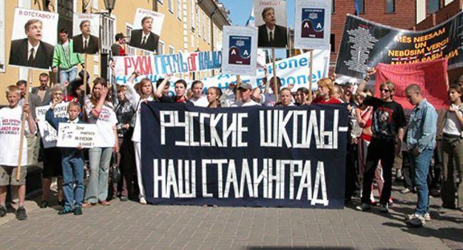Non-citizens of Latvia and Estonia
