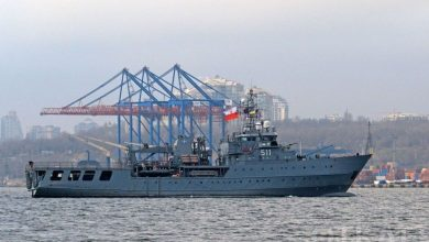 Photo of NATO ships arrived in Odessa