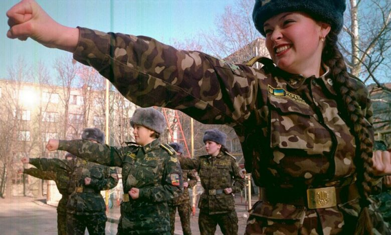 Ukraine's Female Soldiers